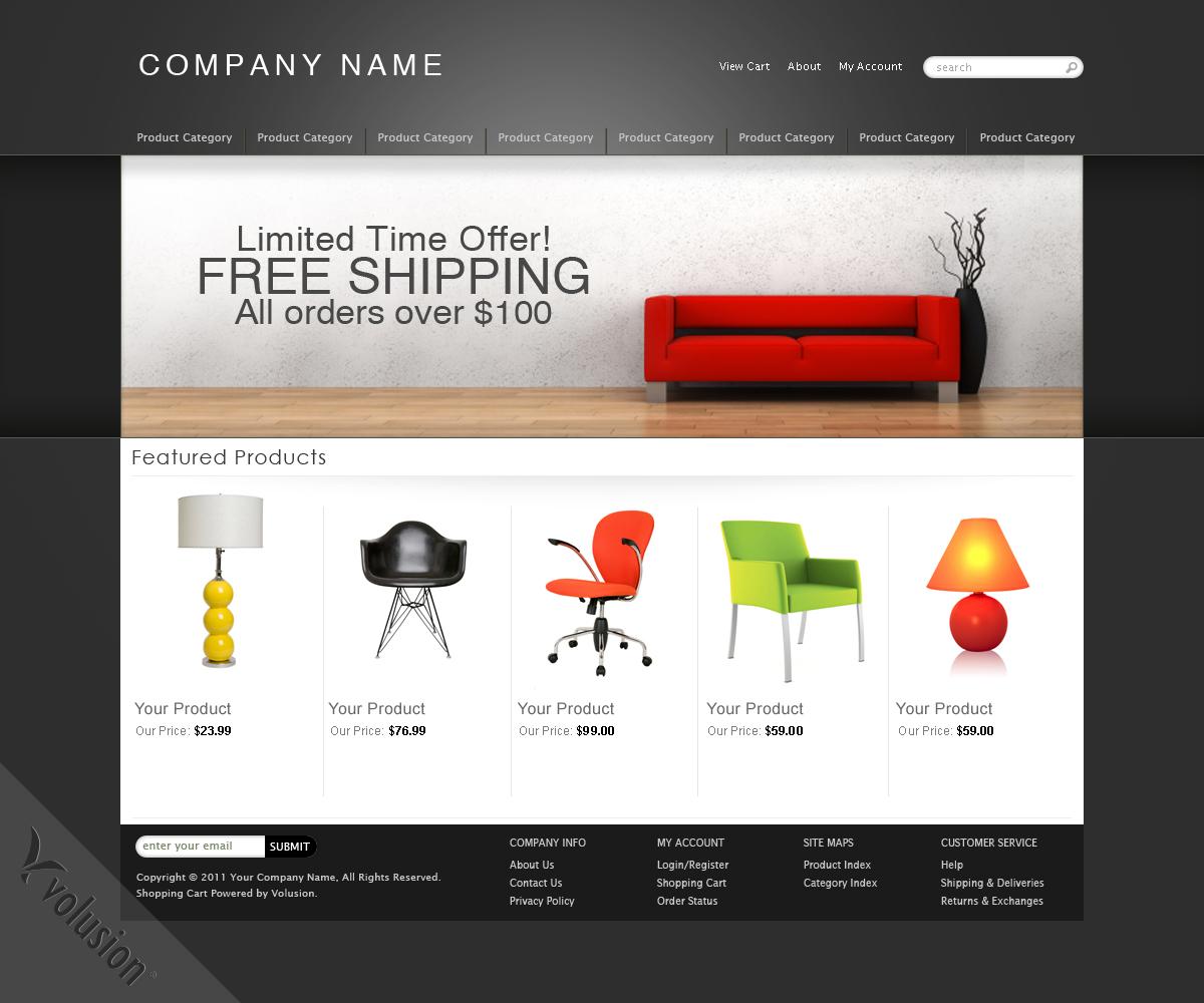 E Commerce Template. ecommerce website template download e ...